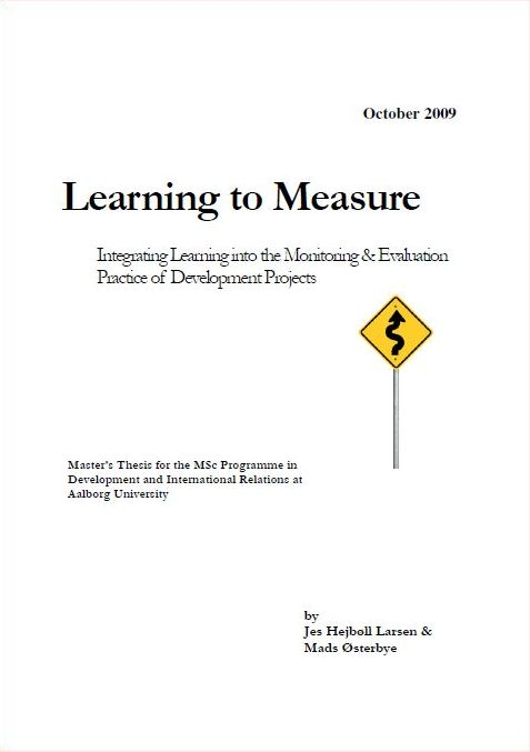 Learning and development thesis